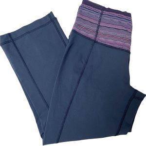 Lululemon cropped yoga pants Size 6